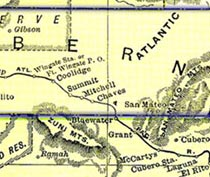 Bernalillo County in 1895